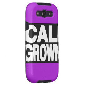 Cali Grown 2 Purple Samsung Galaxy S3 Covers