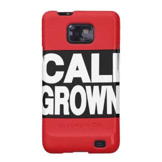 Cali Grown 2 red Samsung Galaxy SII Case