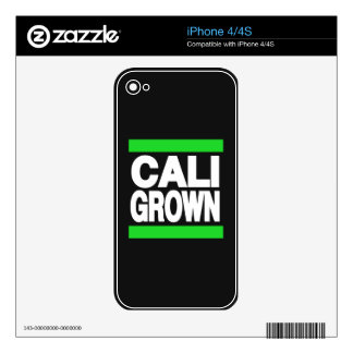 Cali Grown Green Skins For The iPhone 4S