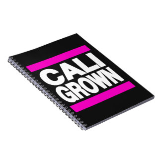 Cali Grown Pink Note Book