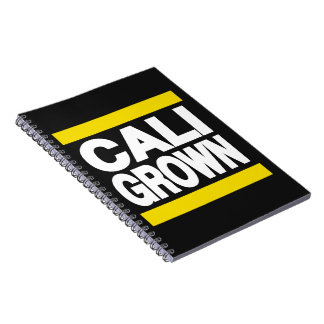 Cali Grown Yellow Note Book