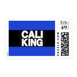 Cali King 2 Blue Postage