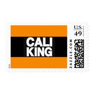 Cali King 2 Orange Postage Stamps