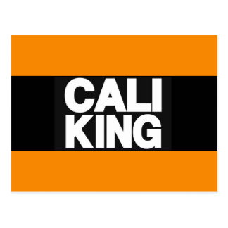 Cali King 2 Orange Postcard