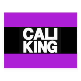 Cali King 2 Purple Postcard