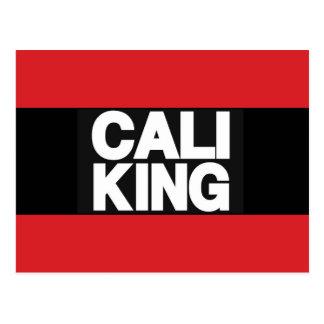 Cali King 2 Red Postcard