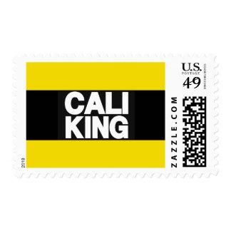Cali King 2 Yellow Postage Stamp
