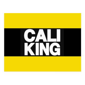 Cali King 2 Yellow Postcard