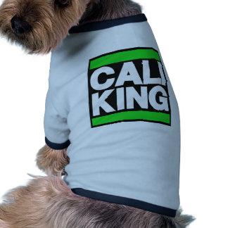 Cali King Green Doggie Tee