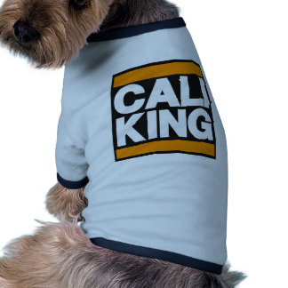Cali King Orange Pet Tee Shirt