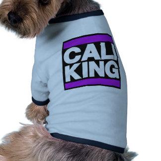 Cali King Purple Dog Shirt