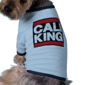 Cali King Red Pet Clothing