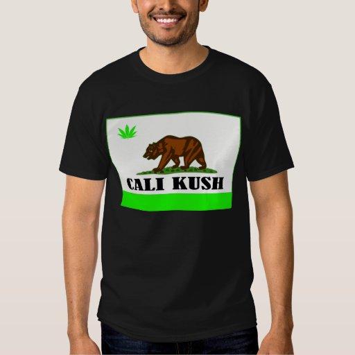 Cali Kush -- Camiseta Playeras