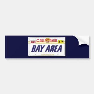 Cali License Plates Bumper Stickers