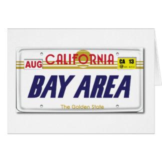 Cali License Plates Card