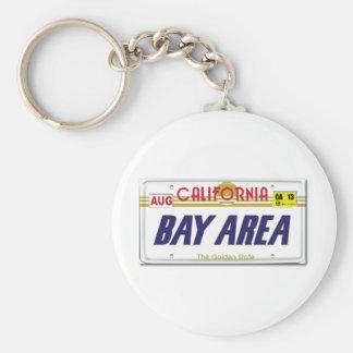 Cali License Plates Keychain