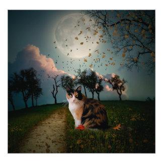Cali Moon Photo Print