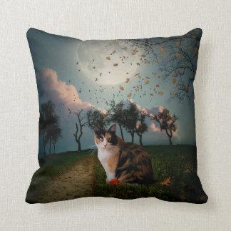 Cali Moon Throw Pillows