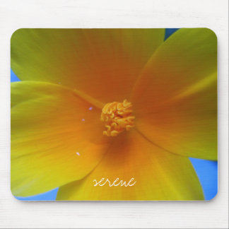 cali poppy mouse pad