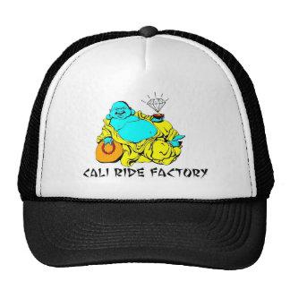 Cali Ride Factory Buddha trucker hat