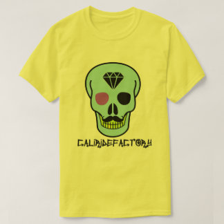 Cali Ride Factory Skull skater t-shirt