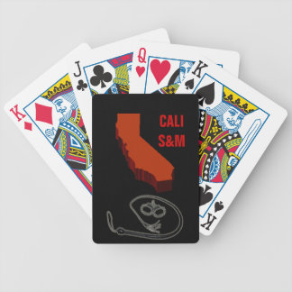 CALI S&M BICYCLE PLAYING CARDS