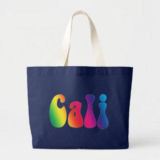 Cali Tie-Dye California Hippie Beach Tote Bag