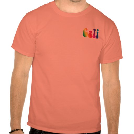 Cali Tie-Dye California Hippie Logo Tee