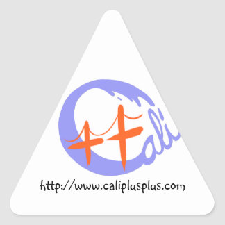 Cali++ Triangle Triangle Sticker