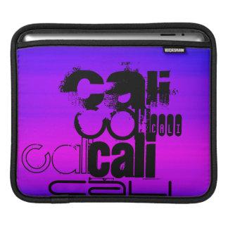 Cali; Vibrant Violet Blue and Magenta iPad Sleeve