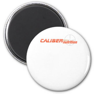 CALIBER NUTRITION final 2 Inch Round Magnet