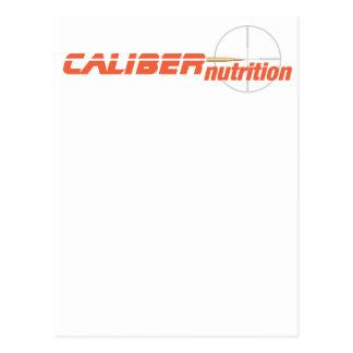 CALIBER NUTRITION final Postcard