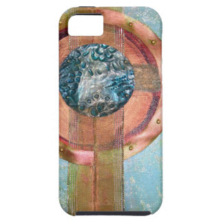 Calibrate - mixed media iPhone 5 covers
