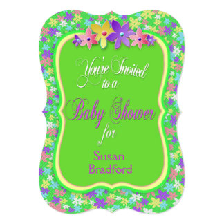 Calico Baby Shower Invitation - Personalize
