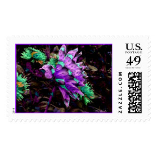 Calico Bird of Paradise Stamp