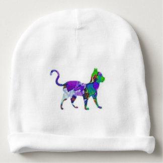 Calico Cat Baby Beanie