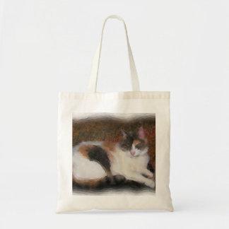Calico Cat Tote Bags