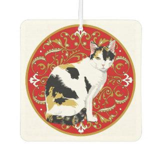 Calico Cat Baroque Air Freshener