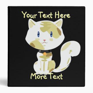 Calico Cat Binder