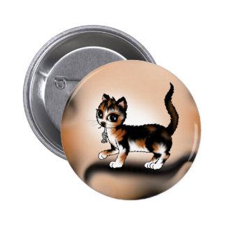 Calico Cat Buttons