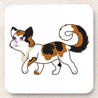 Calico Cat Drink Coasters