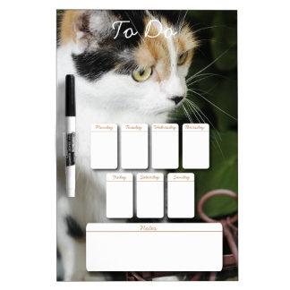 Calico Cat Dry Erase Board