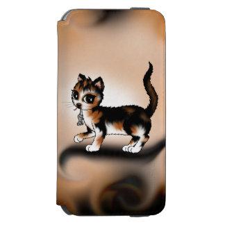 Calico cat iPhone 6/6s wallet case