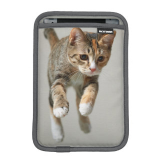 Calico Cat Jumping Sleeve For iPad Mini