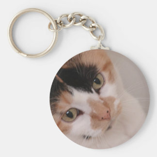 Calico Cat Keychain