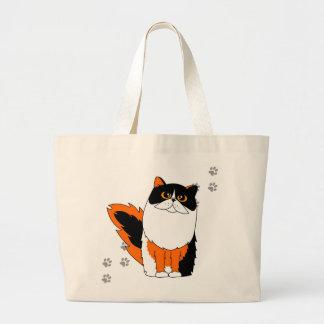 Calico Cat Large Tote Bag