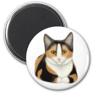 Calico Cat Magnet