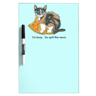 Calico Cat on the prowl Dry-Erase Board