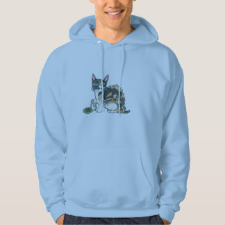 Calico Cat on the prowl Hoodie
