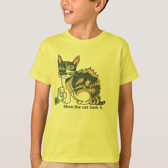 Calico Cat on the prowl T-Shirt